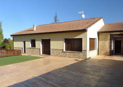 Casa pasiva moderna en la sierra norte de Madrid